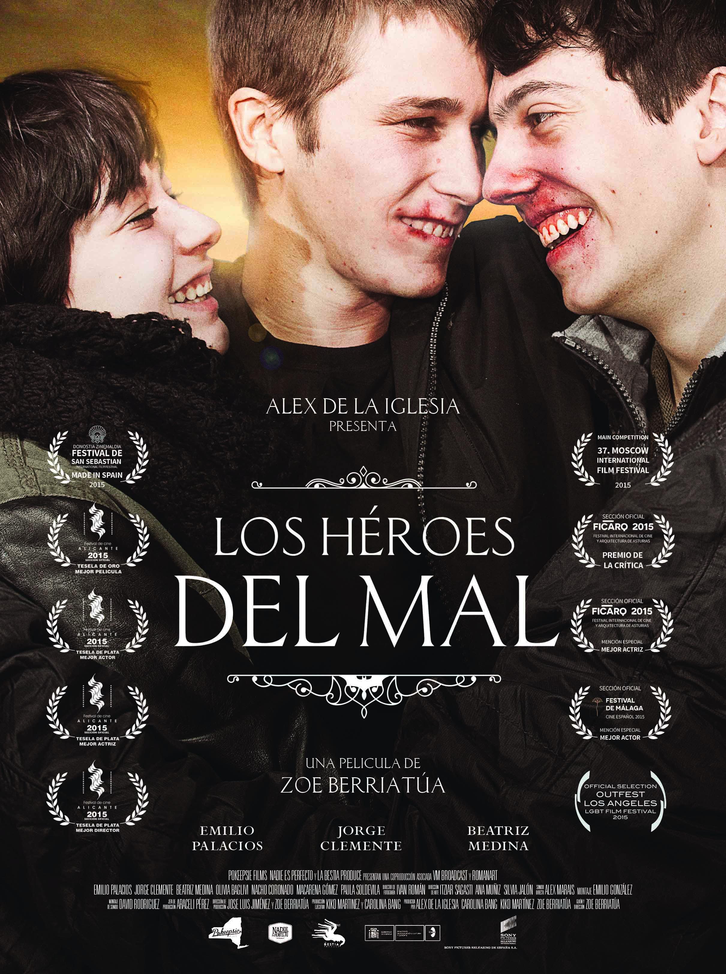 Cartel Oficial Los Héroes del Mal
