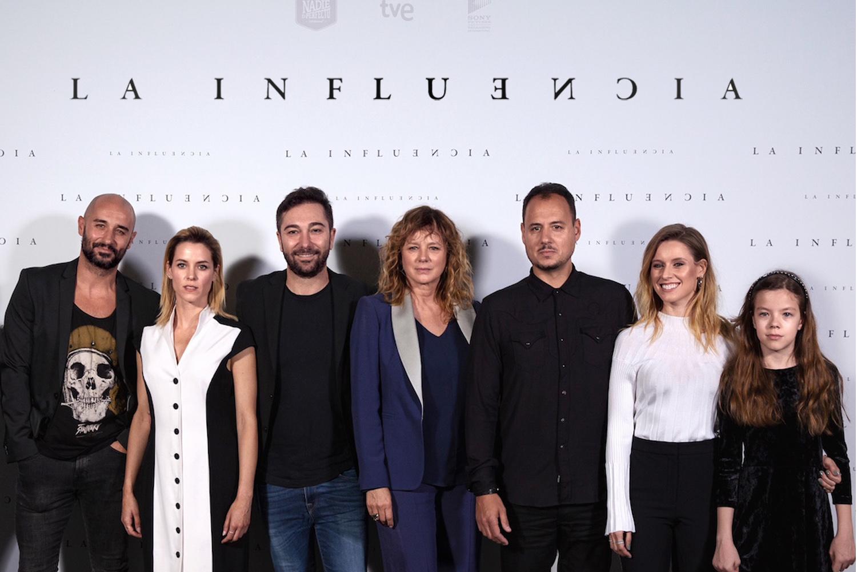 Fotogramas visita el rodaje de 'La Influencia'