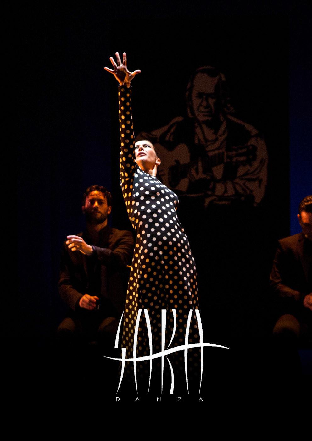 """Sara Baras – """"Voces"""" en el teatro Principal."""